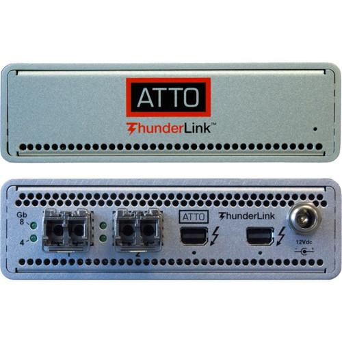 ATTO Technology ThunderLink FC 2082 Thunderbolt 2 TLFC-2082-D00
