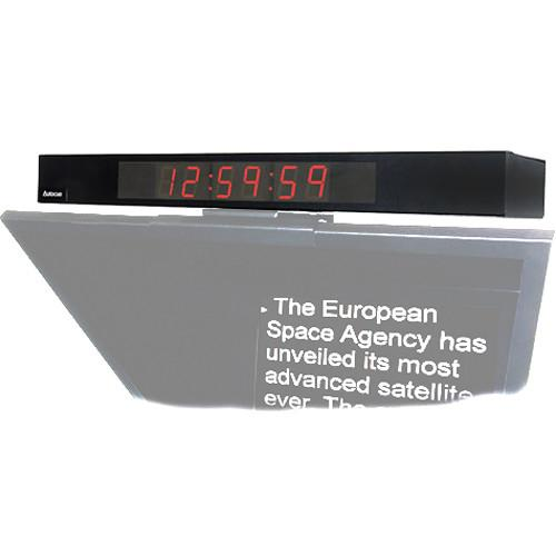Autocue/QTV Digital Clock Display MT-CLOCK/LTCVITC
