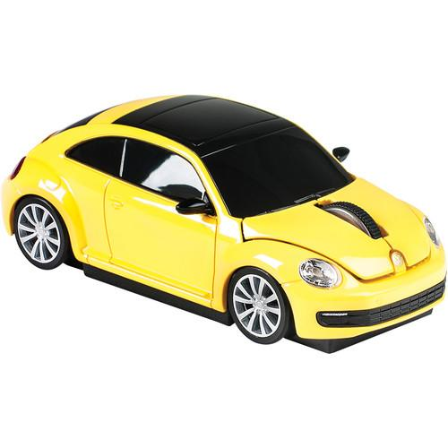 Automouse VW The Beetle 2.4 GHz Wireless Mouse 95911W-YELLOW
