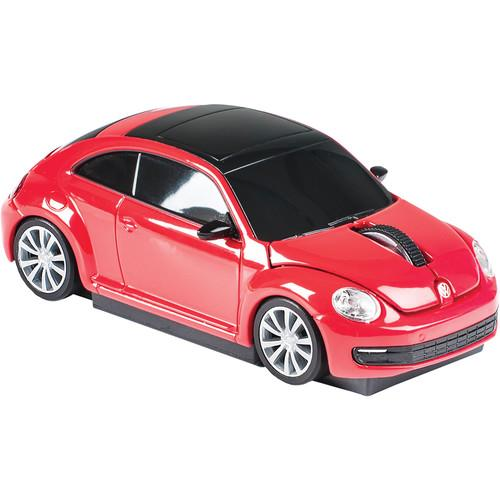 Automouse VW The Beetle 2.4 GHz Wireless Mouse (Red) 95911W-RED
