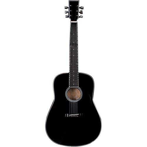 AXE HEAVEN Classic Black Finish Acoustic Miniature Guitar AC-003