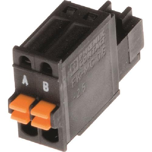 Axis Communications Connector A 2-Pin 2.5mm Straight 5505-261