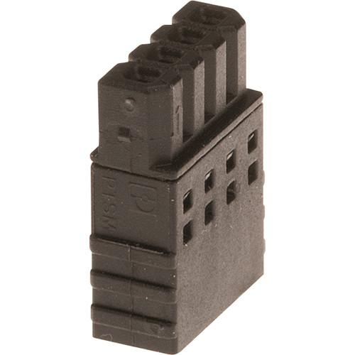 Axis Communications Connector A 4-Pin 2.5mm Straight 5800-891