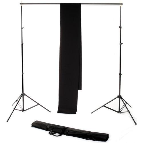 Backdrop Alley Studio Kit with Stand and 10 x 24' STDKT-24B