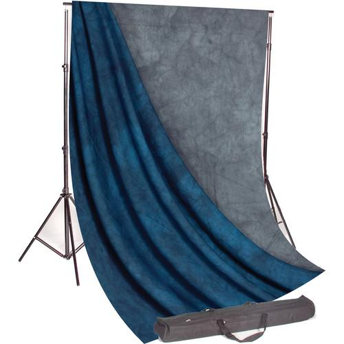 Backdrop Alley Studio Kit with Stand and 10 x 24' STDKT-24BK