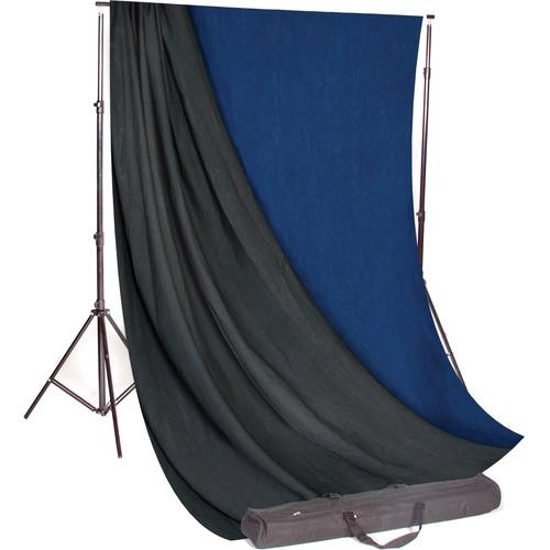 Backdrop Alley Studio Kit with Stand and 10 x 24' STDKT-24MG