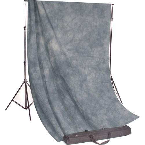 Backdrop Alley Studio Kit with Stand and 10 x 24' STDKT-24SG