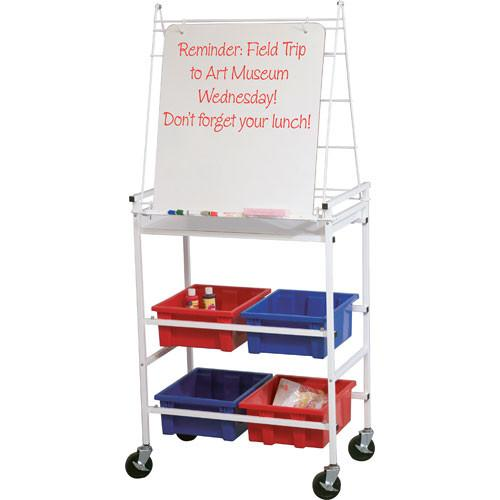Balt Cart Wheasel Mobile Storage & Learning Easel 33325