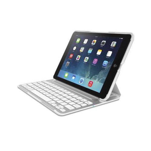 Belkin QODE Ultimate Pro Keyboard Case for iPad Air F5L171TTWHT
