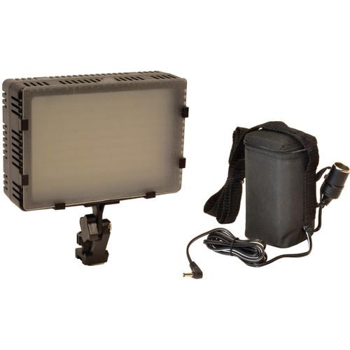 Bescor FP-180B Bi-Color Dimmable On-Camera Light and FP-180B