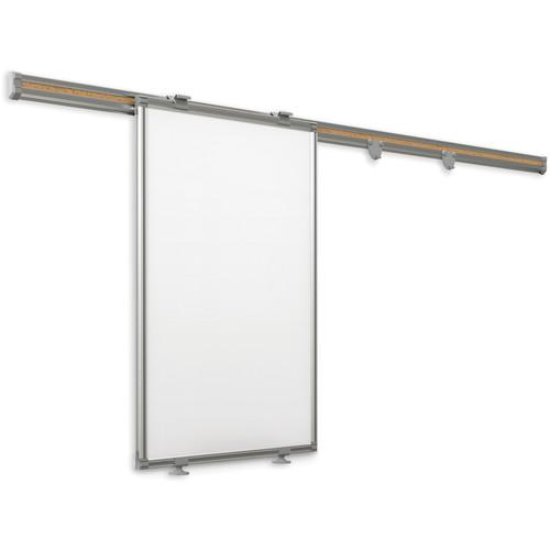 Best Rite 62850 6' Whiteboard Track System with Sliding 62850