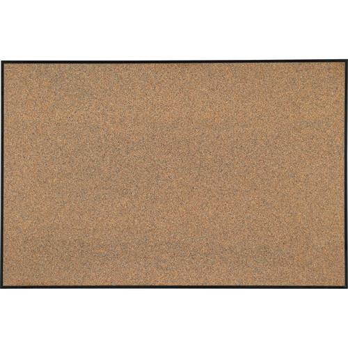 Best Rite Splash-Cork Tackboard with Ultra Trim (Black) E3008F