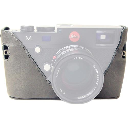 Black Label Bag Half Case for Leica M Type 240 and BLB306GRAY