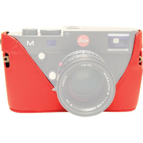 Black Label Bag Half Case for Leica M Type 240 and M-P BLB306RED