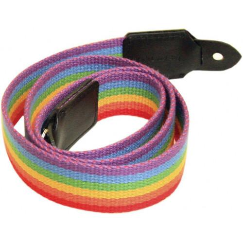 Black Label Bag Rainbow Canvas Camera Strap - 40