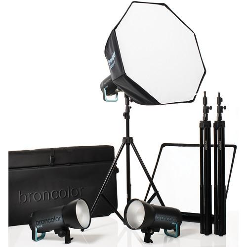 Broncolor Siros 800 S WiFi/RFS 2.1 Pro 3-Light Kit B-31.693.07