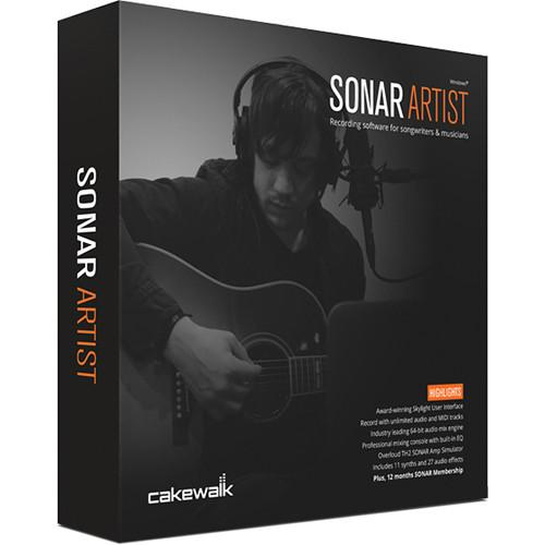 Cakewalk SONAR Artist - Audio Software 10-CSAR1.00-90CL