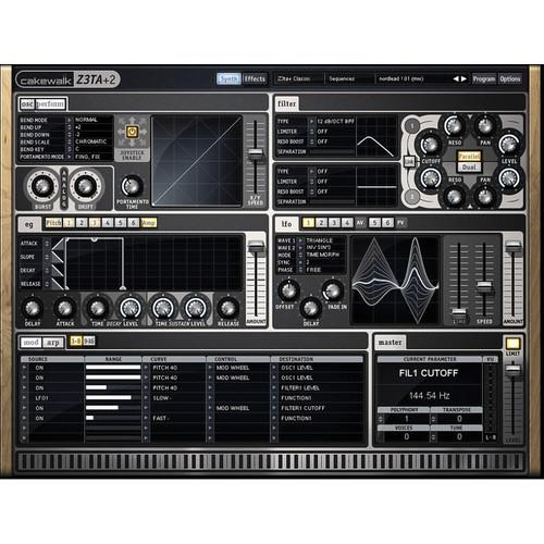Cakewalk Z3TA  2 - Virtual Synthesizer 10-ODZ32.00-R0CE