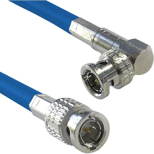 Canare Male to Right Angle Male HD-SDI Video Cable CA6HSVBRA25BL