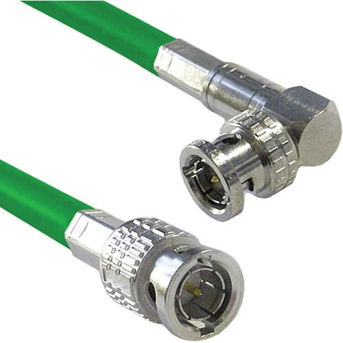 Canare Male to Right Angle Male HD-SDI Video Cable CA6HSVBRA6GRN