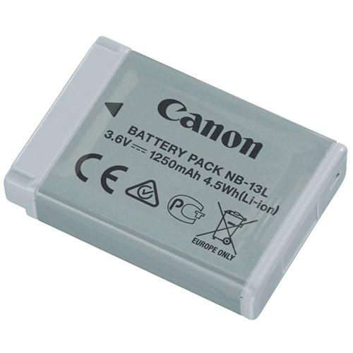 Canon NB-13L Lithium-Ion Battery Pack (3.6V, 1250mAh) 9839B001