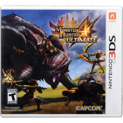 Capcom Monster Hunter 4 Ultimate (Nintendo 3DS) 30519