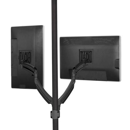 Chief Kontour K1P Dynamic Pole Dual Monitor Mount (Black)