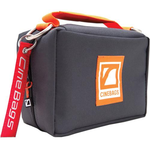CineBags CB92 Monitor Pack (Charcoal with Orange Webbing) CB92