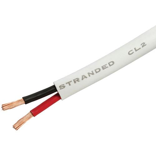 Cmple 18 AWG CL2 Rated 2-Conductor Loud Speaker Cable 694-N