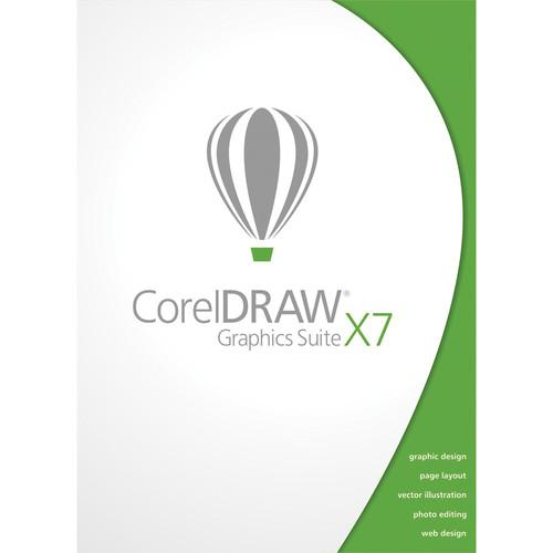 Corel CorelDraw Graphics Suite X7 for Windows CDGSX7MLDVDA