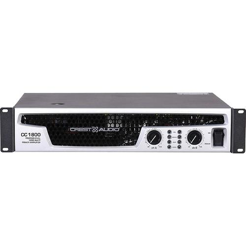 Crest Audio CC 1800 Power Amplifier (2RU) 01000800