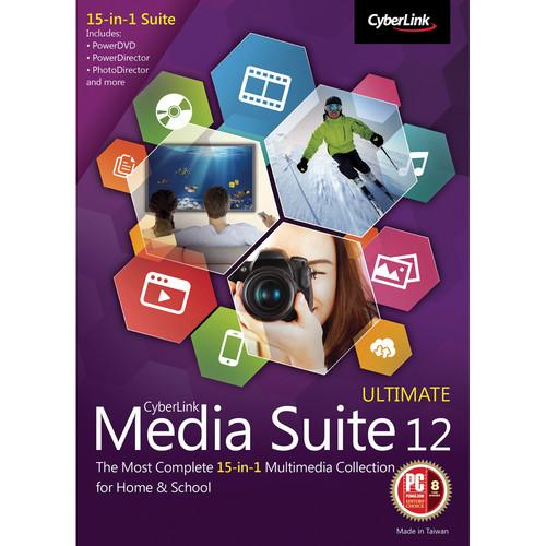 CyberLink Media Suite 12 Ultimate (Download) MES-0C00-IWM0-00