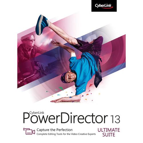 CyberLink PowerDirector 13 Ultimate Software PUS-0D00-IWM0-00