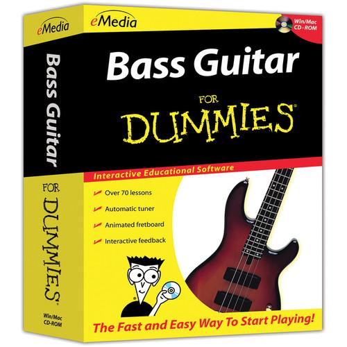 eMedia Music Bass Guitar For Dummies - Beginner Bass FD07101DLW
