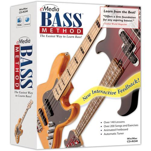 eMedia Music Bass Method v2 - Beginner Bass Guitar EG07103DLW