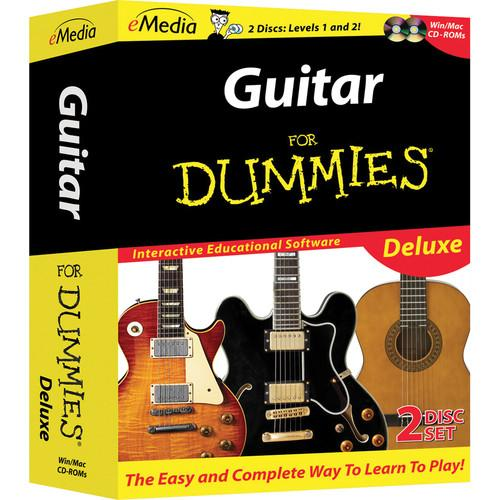 eMedia Music Guitar For Dummies Deluxe For Windows FD09103DLW