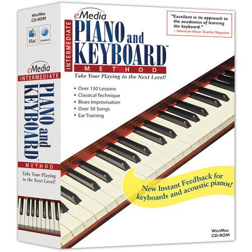 eMedia Music Intermediate Piano and Keyboard Method EK03121DLW