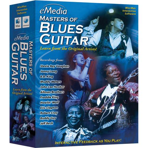 eMedia Music Masters of Blues Guitar - Blues Guitar EG10131DLM