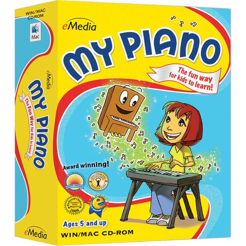eMedia Music My Piano - Child Piano Lessons for Mac EK12097DLM