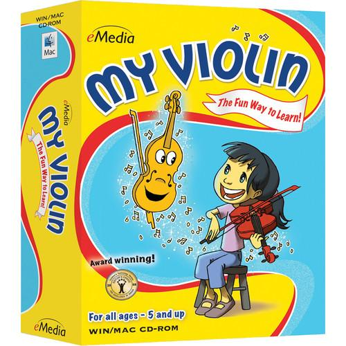 eMedia Music My Violin - Child Violin Lessons EV12090DLM