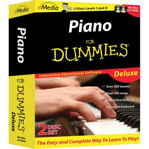 eMedia Music  Piano for Dummies Deluxe FD09105DLW