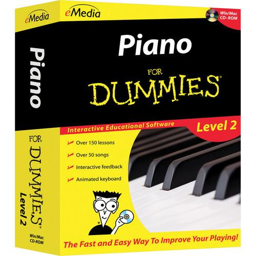 eMedia Music Piano For Dummies Level 2 - Piano FD09108DLM