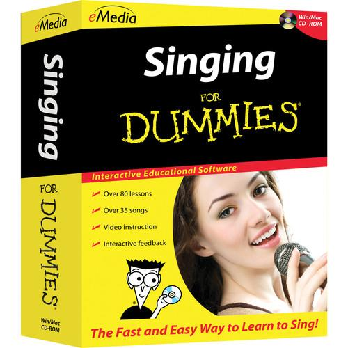 eMedia Music Singing for Dummies Level 1 FD08111DLW