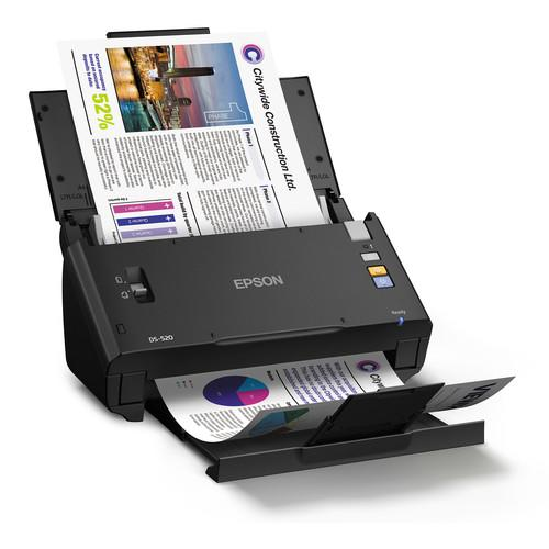Epson WorkForce DS-520 Color Document Scanner B11B234201