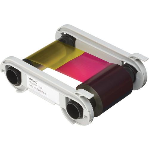 Evolis YMCKO 5-Panel Color Ribbon Cassette for Primacy R5F008AAA