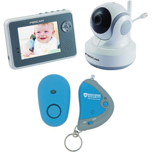 Foscam Digital Video Baby Monitor With Child Locator Bundle