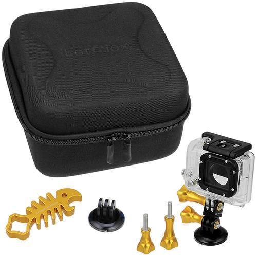 FotodioX GoTough CamCase Double Kit for GoPro HERO1, GT-KITX2-G