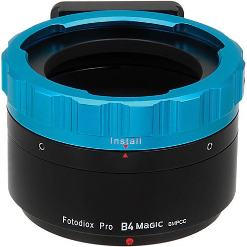 FotodioX Pro B4 Magic Adapter for Blackmagic B4(MGC)-MFT-P