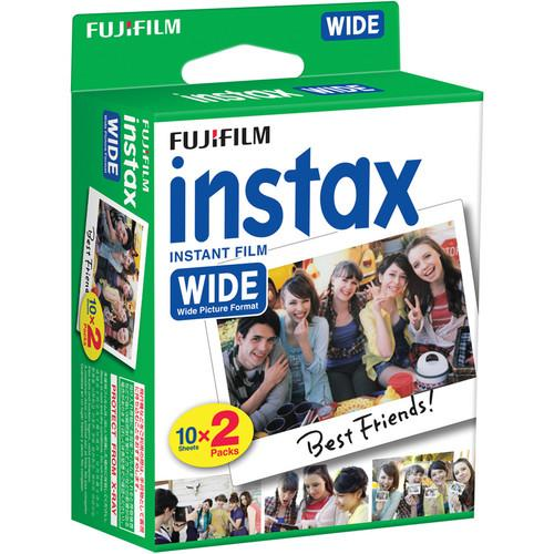 Fujifilm instax Wide Instant Film (5 x Twin Packs)