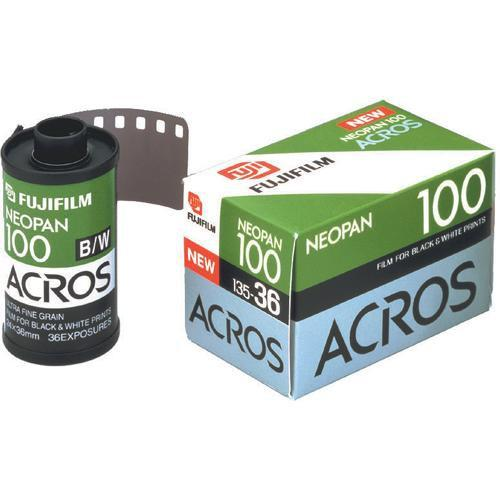 Fujifilm Neopan 100 Acros Black and White Negative Film
